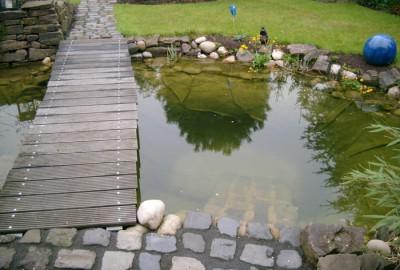 Holz Steg Gartenbau Landschaftsbau Erftstadt Köln