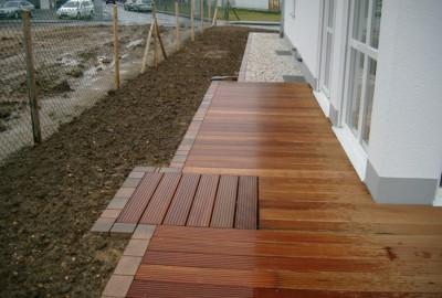 Holz Terrasse Gartenbau Landschaftsbau Erftstadt Köln