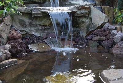 Wasser Bachlauf Gartenbau Landschaftsbau Erftstadt Köln