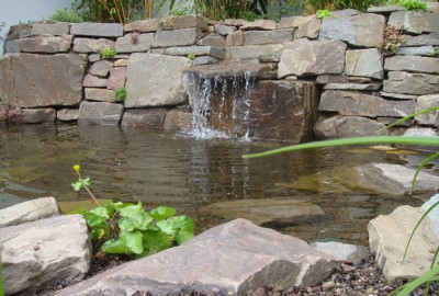 Wasser Quellstein Gartenbau Landschaftsbau Erftstadt Köln