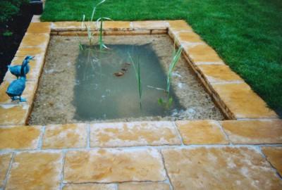 Wasser Wasserbecken Gartenbau Landschaftsbau Erftstadt Köln